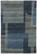 Facade Moody Blues, a hand knotted rug designed by Tufenkian Artisan Carpets.