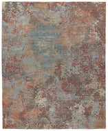 Foundry Copper, a hand knotted rug designed by Tufenkian Artisan Carpets.
