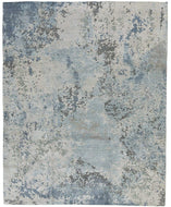 Foundry Cornflower, a hand knotted rug designed by Tufenkian Artisan Carpets.