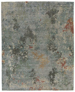 Foundry Storm, a hand knotted rug designed by Tufenkian Artisan Carpets.