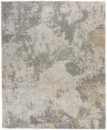 Foundry Travertine, a hand knotted rug designed by Tufenkian Artisan Carpets.