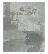 FRANZ DOVE GREY, a hand knotted rug designed by Tufenkian Artisan Carpets.