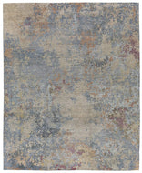 Foundry Zinc, a hand knotted rug designed by Tufenkian Artisan Carpets.