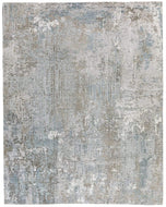 Frieze Granite, a hand knotted rug designed by Tufenkian Artisan Carpets.