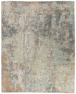 Frieze Limestone, a hand knotted rug designed by Tufenkian Artisan Carpets.