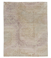 Garden Pink 8x10, a hand knotted rug by Tufenkian Artisan Carpets