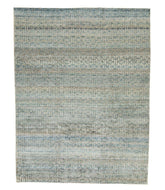 Geo Sage is a hand knotted carpet by Tufenkian Artisan Carpets