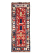 Gendje Ruby Runner, a hand knotted rug by Tufenkian Artisan Carpets