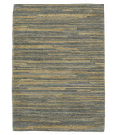 Horizon III Grey Gold, a hand knotted rug designed by Tufenkian Artisan Carpets.