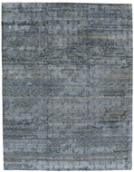 Kimono Dark Blue, a hand knotted rug by Tufenkian Artisan Carpets