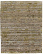 Komon citron, a hand knotted rug by Tufenkian Artisan Carpets