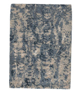 ABRABLE Blue Sample is a hand knotted rug by Tufenkian Artisan Carpets