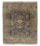 Kumari Charcoal, a hand knotted rug by Tufenkian Artisan Carpets