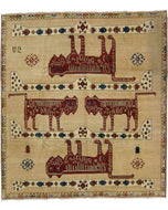 Lion III, a hand knotted rug designed by Tufenkian Artisan Carpets.