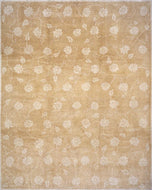 LOTUS & VINE TAN is a hand knotted rug by Tufenkian Artisan Carpets