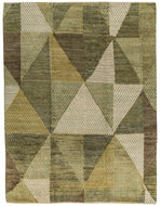 Minos Sage, a hand knotted rug designed by Tufenkian Artisan Carpets.