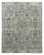 Rani Blue is a hand knotted rug design by Tufenkian Artisan Carpets