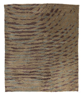Okayama Deep Purple is a sample piece by Tufenkian Artisan Carpets