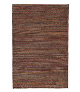 Persian gabbeh nomad is a 3x4 hand knotted rug