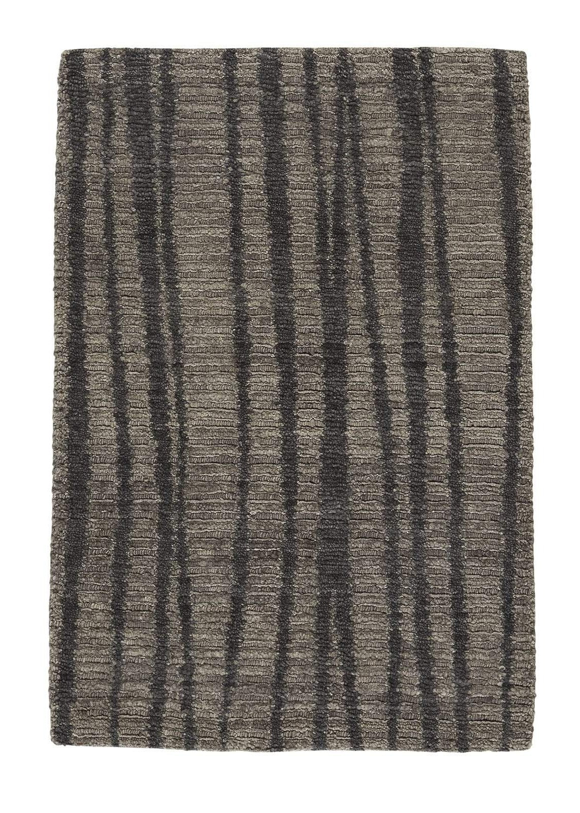 Rays II Bark, a hand knotted rug designed by Tufenkian Artisan Carpets.