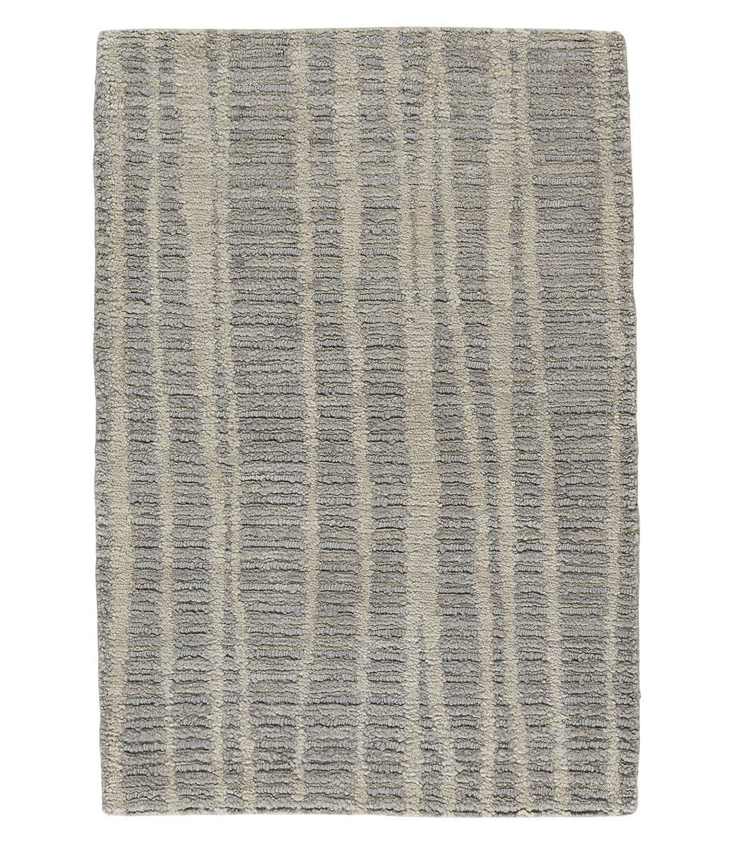 Rays II Light Grey, a hand knotted rug designed by Tufenkian Artisan Carpets.