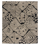 Rabat Natural Black, a hand knotted rug designed by Tufenkian Artisan Carpets.