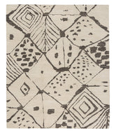 Rabat White Natural, a hand knotted rug designed by Tufenkian Artisan Carpets.