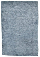 Solid Handloom Blue, a hand knotted rug designed by Tufenkian Artisan Carpets.