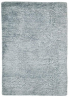 Solid Handloom Sky, a hand knotted rug designed by Tufenkian Artisan Carpets.