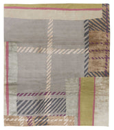 Striped Plaid Candy, a hand knotted rug designed by Tufenkian Artisan Carpets.