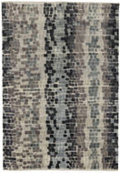 Tesserae Smoke, a hand knotted rug design by Tufenkian Artisan Carpets