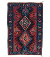 Antique Karabagh Kilim is a hand knotted rug