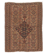Antique Senneh Kilim  is a hand knotted rug