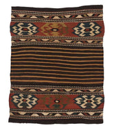 Antique Armenian Kilim is a 7x10 hand knotted rug
