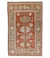 Antique Chinese Samar is a antique hand knotted rug