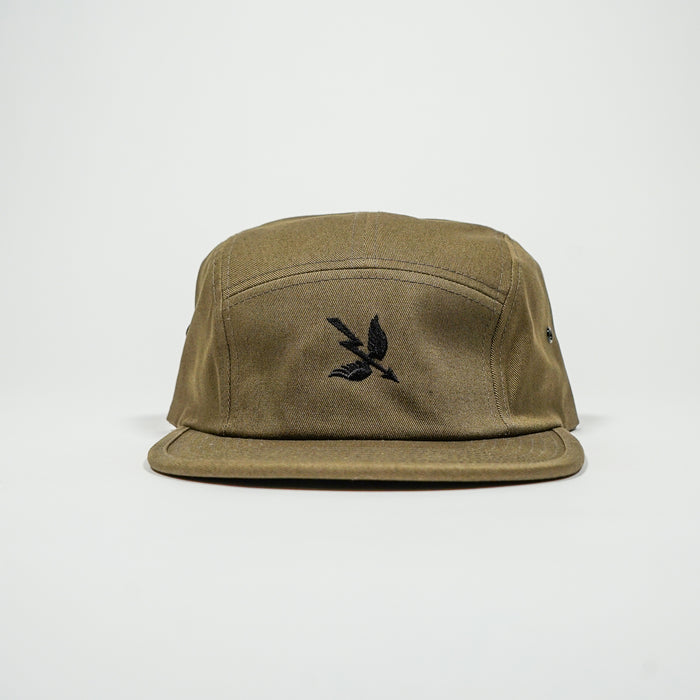 Arrow 5 Panel Cap - Olive