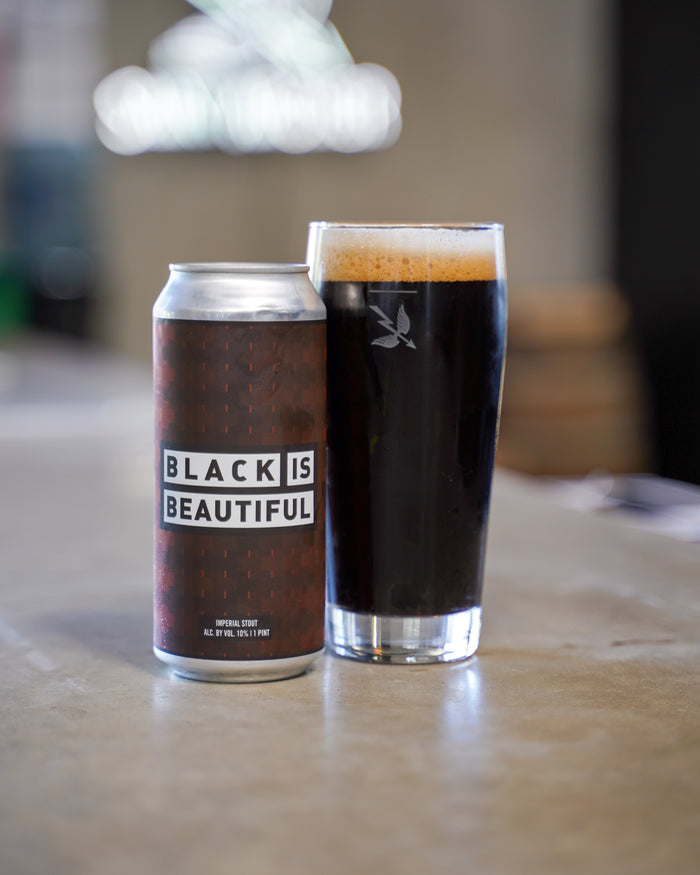 Black is Beautiful Imperial Stout 4 pack