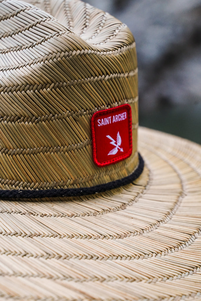 Saint Archer Straw Lifeguard hat