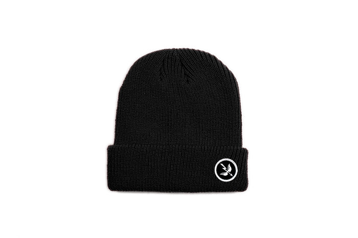 Arrow Beanie - Black
