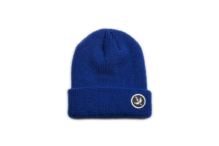 Arrow Beanie - Blue