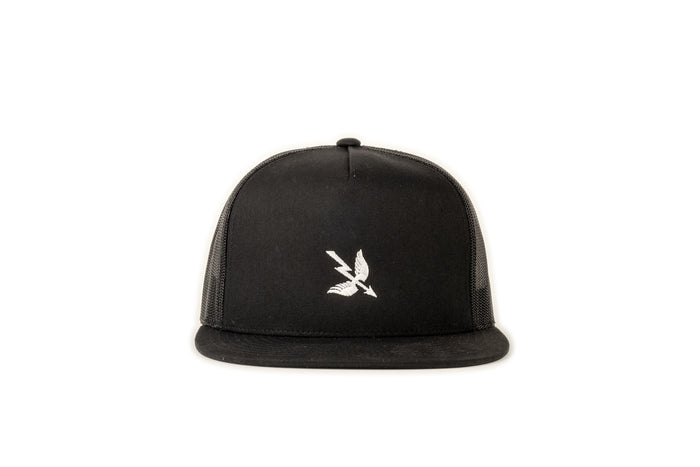 Arrow Mesh Cap - Black
