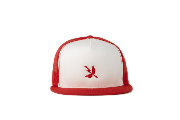 Arrow Mesh Cap - Red