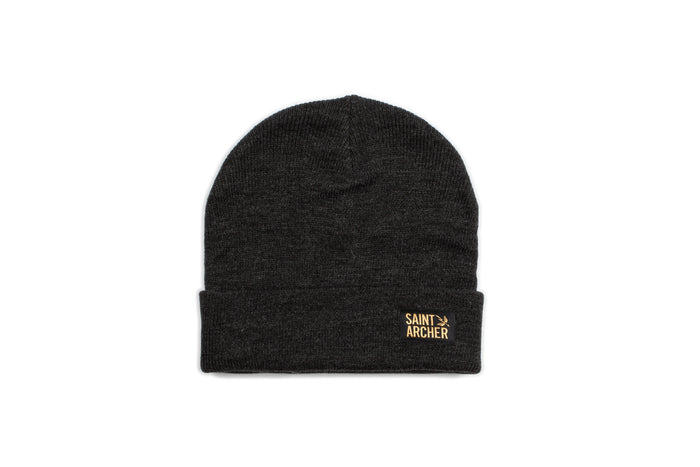 Stacked Beanie - Charcoal