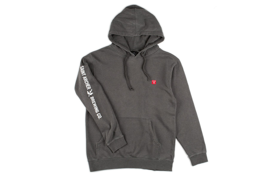 Case Hooded Pullover - Charcoal