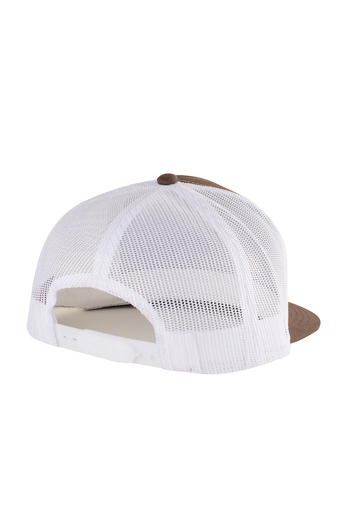 Stack Mesh Hat - Brown/White