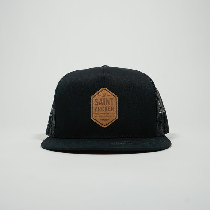 Hex Mesh Cap - Black
