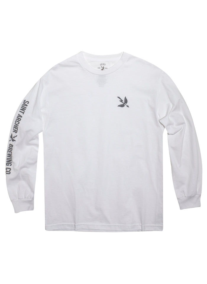Arrow SV L/S Tee - White
