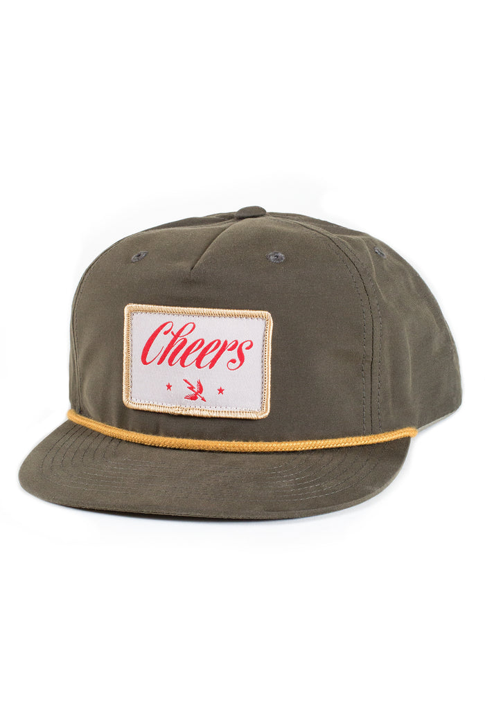 CHEERS SNAPBACK GREEN/ RED/ GOLD