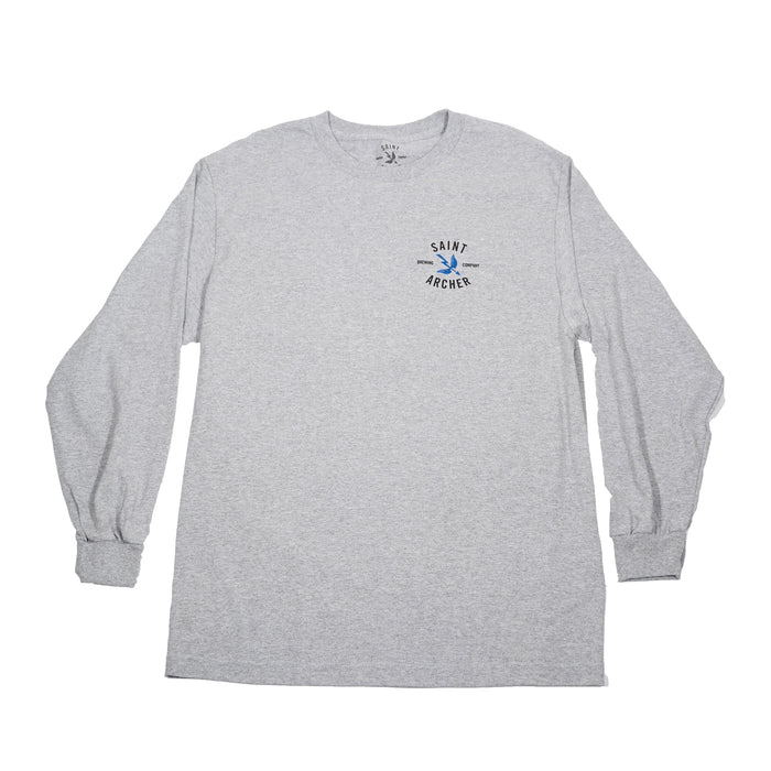 Classic LS- Heather Grey/Black
