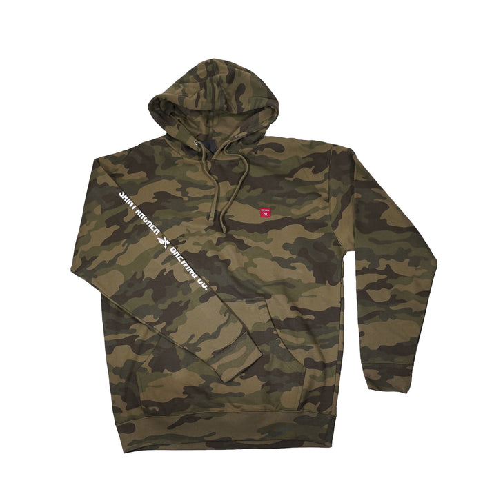 Red Label Hoodie- Camo